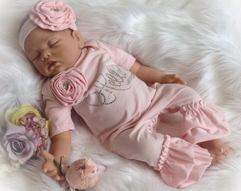 Hello World Coming Home Outfit, Hello World Newborn Ruffle Romper, Baby Girl Coming Home Romper