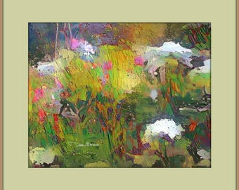 Rainbow Wildflowers - Instant Download Wall Art Prints - Color Impressions of Vermont Wildflowers