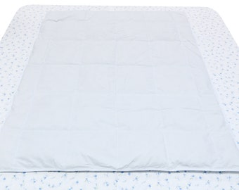 55x43 inches Baby White Goose Down Comforter, For all season around