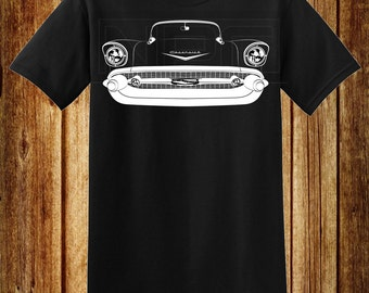 57 Chevy Bel-Air, 210, sedan, Hardtop, HT, Post, Nomad, Station Wagon T-Shirt