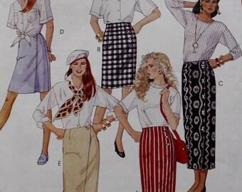 McCalls 6528 /Wrap Skirt Sewing Pattern