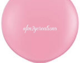 """36"""" Round Pink Balloon 