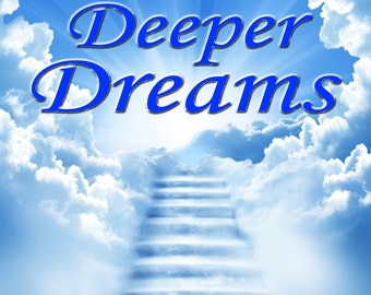 """Relaxing Music CD Album """"Deeper Dreams"""" For Stress, Anxiety, Meditation, Sleep, Calming, Panic, Mindfulness & other Relaxation Techniques"""