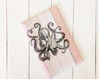 Nautical Switchplate ~ Octopus Light Switch Cover ~ Kraken Decor