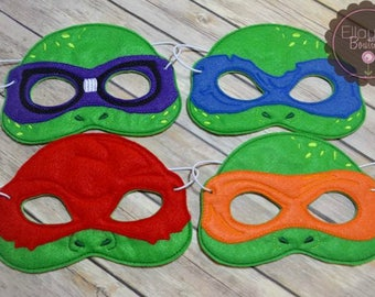Felt Mask - Teenage Mutant Ninja Turtles, TMNT inspired