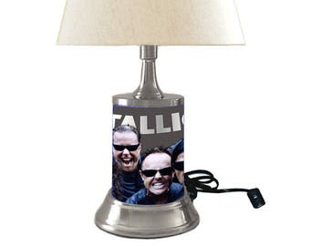 Metallica Lamp with shade
