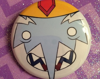 Adventure Time Ice King Button