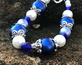 Kids Beaded Bracelet With Lobster Clasp