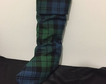 Campbell Tartan Christmas Stocking