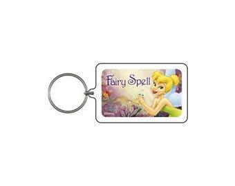 Tinker Bell Fairy Spell Keychain & Keyring