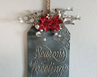 Seasons Greetings Wall hanging