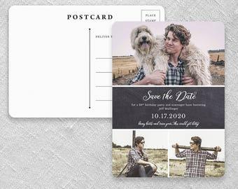 Union Square Birthday - Postcard - Save-the-Date
