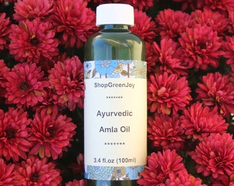 ShopGreenJoy Ayurvedic Amla Oil Hair Amla oil Ayurvedic Hair Massage Oil Amla hair care Ayurvedic treatment Hair treatment oil Ayurvedic oil