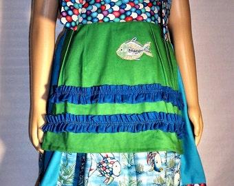Girls fish dress