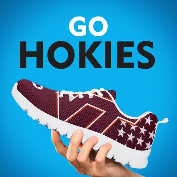 Sizes Football Kids Mens Hokies Running Collector Gift Sneakers Custom Tech Shoes Womens Gift Trainers Virginia Gift 7xWHwRAzcq