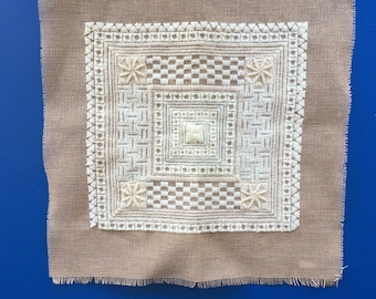 Needlework Pattern Sampler