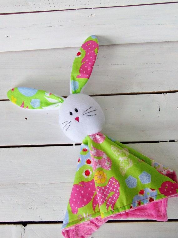 Bunny blanket buddysecurity blanketeaster baby giftbaby like this item negle Choice Image