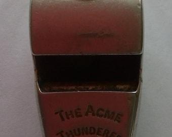 Vintage ACME Thunderer English Whistle