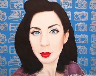 True Beauty - Lisa Boros  -  By Toronto Portrait Artist Malinda Prud'homme