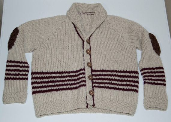 Handknitted Boys Cardigan/Jacket to fit a 4 Year Old.