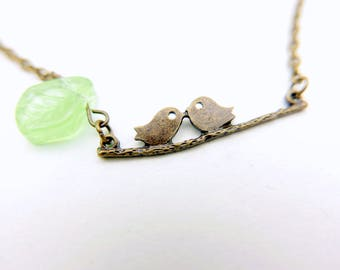 Birds in love Necklace