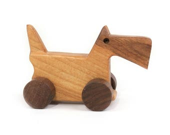 Wooden eco friendly toy - SMALL TERRIER