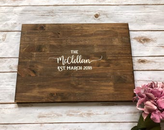 Rustic Wedding Guest Book Alternative decoration ideas Gift Guest used setting ideas thank you wood guest sign in sale best decorate my