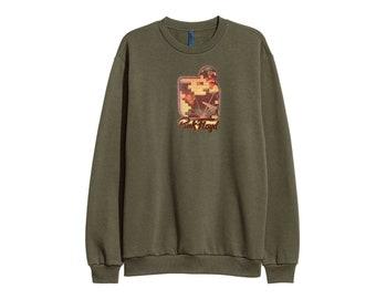 Pink Floyd the wall sweatshirt sweater RETRO 90s - Sz Men L
