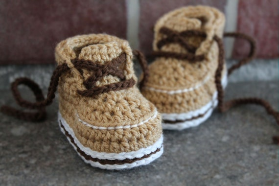 Crochet Baby Booties Pattern Forrester Boot