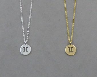 Gemini Necklace 127