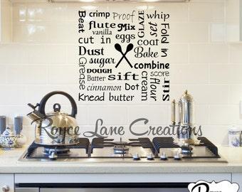 Merveilleux Kitchen Word Art