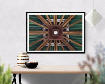 locus // rich abstract photo print // standard or square // hang any direction