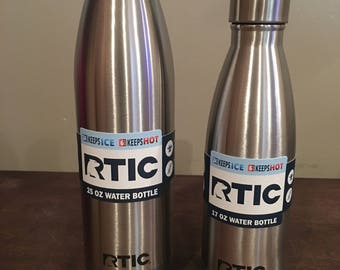 25 oz RTIC water bottle (with our without name/monogram)