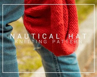 Knitting Pattern | Nautical Hat