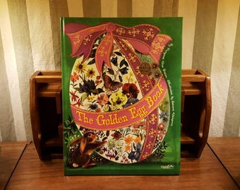 1975 The Golden Egg Book Golden Book Hard Cover Margaret Wise Brown