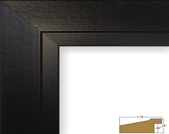 "Craig Frames, 5x7 Inch Modern Black Satin Picture Frame, Balla, 1.75"" (221067040507)"