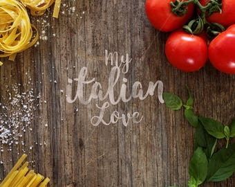 Rustic portrait image | Pasta photo | Styled mockup | Italian food | Rustic mockup | Styled stock photo | Home decor | Instant download