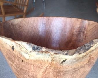 Mesquite wood bowl