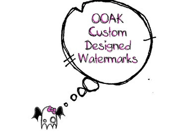 Protect YOUR Work w/ One of A Kind Custom Designed Watermarks by Lizzy Love