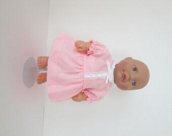 "10-12"" Pink Dress and Panty Set"