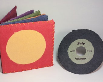 Pulp - Hardbound, Coptic, limited edition, cotton rag paper, handmade artists' book