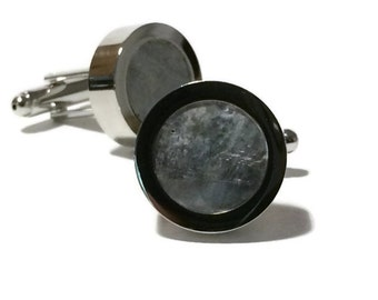 Aluminum Cuff Links or Aluminium Cuff Linkiums