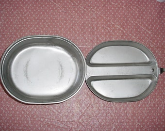 US Army Stainless Steel Mess Kit