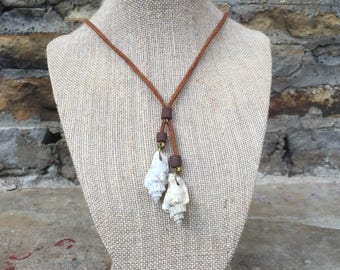 Whelk Shell necklace