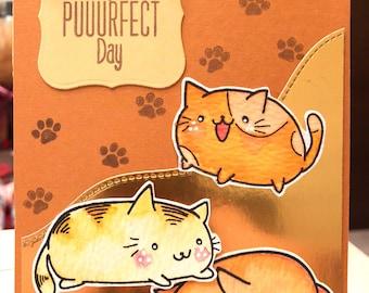 Handmade card (Puurfect day)