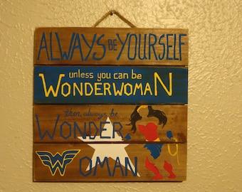 Be Wonderwoman