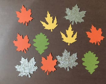 Fall Themed Confetti