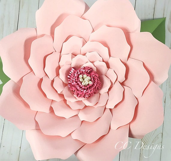 Crazy image regarding printable paper flower templates