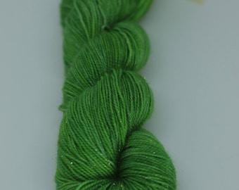 Silver Sparkle Sock - Rainforest