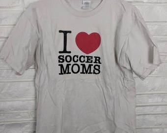 I heart soccer moms t shirt